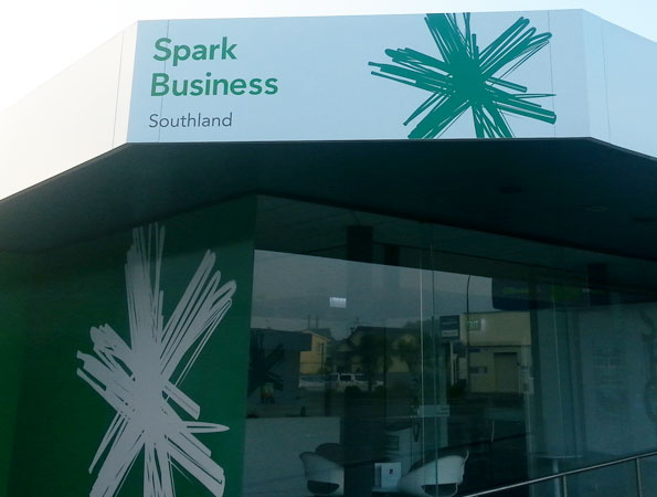 Spark Building Signage