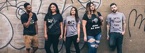Printed T-Shirts NZ
